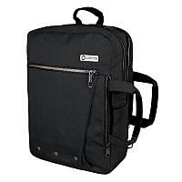 Рюкзак-сумка Optima с отделением для ноутбука, черный O97518-01