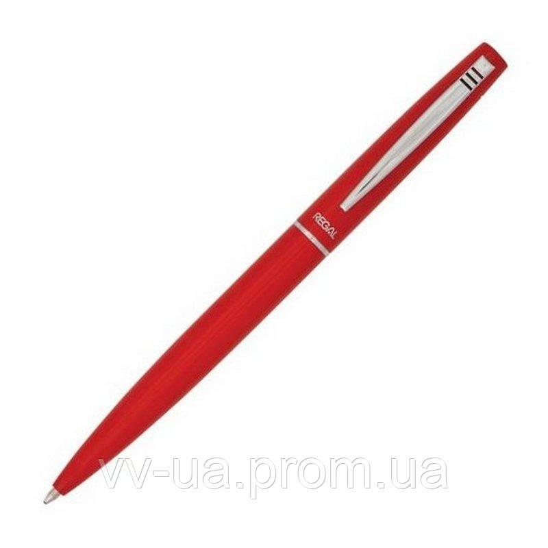 Шариковая ручка Regal в пластиковом футляре, красный (R285205.PB10.B)