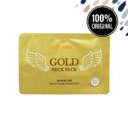 Гидрогелевые патчи с золотом для шеи PETITFEE Gold Neck Pack