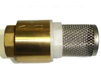 Обратный клапан с фильтром грубой очистки для топлива
