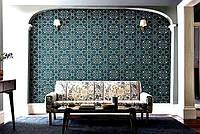 Нова колекція текстилю та шпалер Melsetter 2019 від Morris&Co