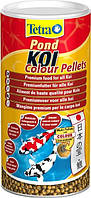 Корм для карпов Кои Tetra Pond Koi Colour Pellets 1 л