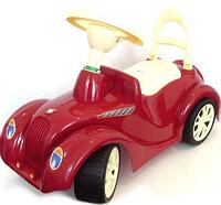 Каталка Ретро автомобиль.Детская каталка толокар.Детский транспорт Орион.
