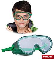 Защитные закрытые очки  REIS GOG-IMPACT
