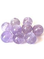 Бусины(d8). Аметринизысканный, редкий камень, символ мира, сияющий помощник, ювелирный камень, унисекс