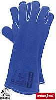 Перчатки спилковые RSPBLUE-INDIANEX
