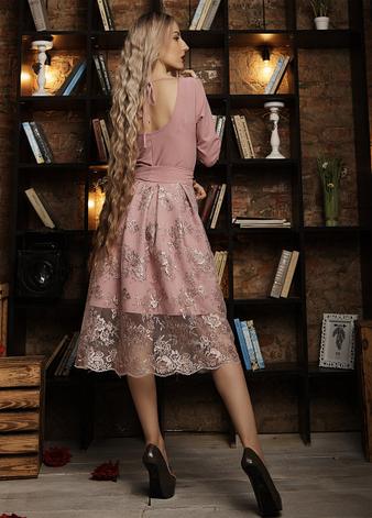 """Нарядное платье  """"Шейли"""" размер 44,46,48 фреза, фото 2"""