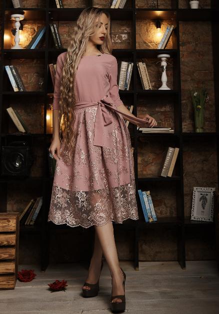 """Нарядное платье  """"Шейли"""" размер 44,46,48 фреза"""