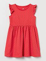 Красное платье в белый горох, H&M, 0620197035