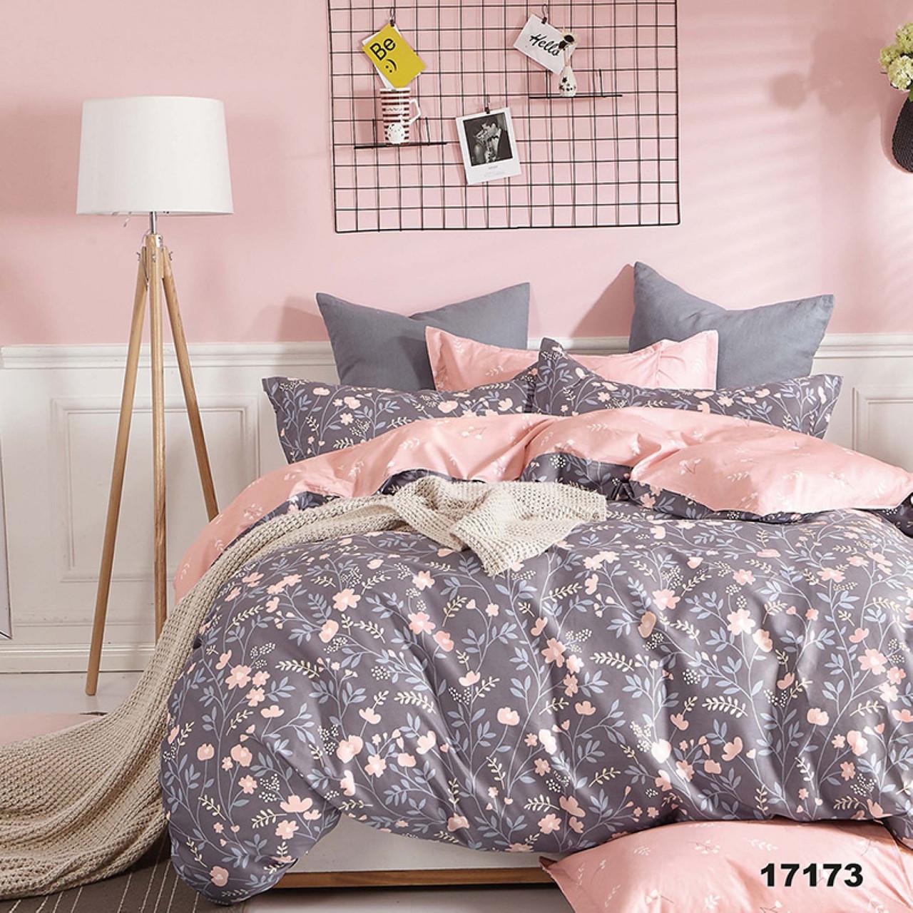 17173 Двуспальное постельное белье ранфорс Viluta