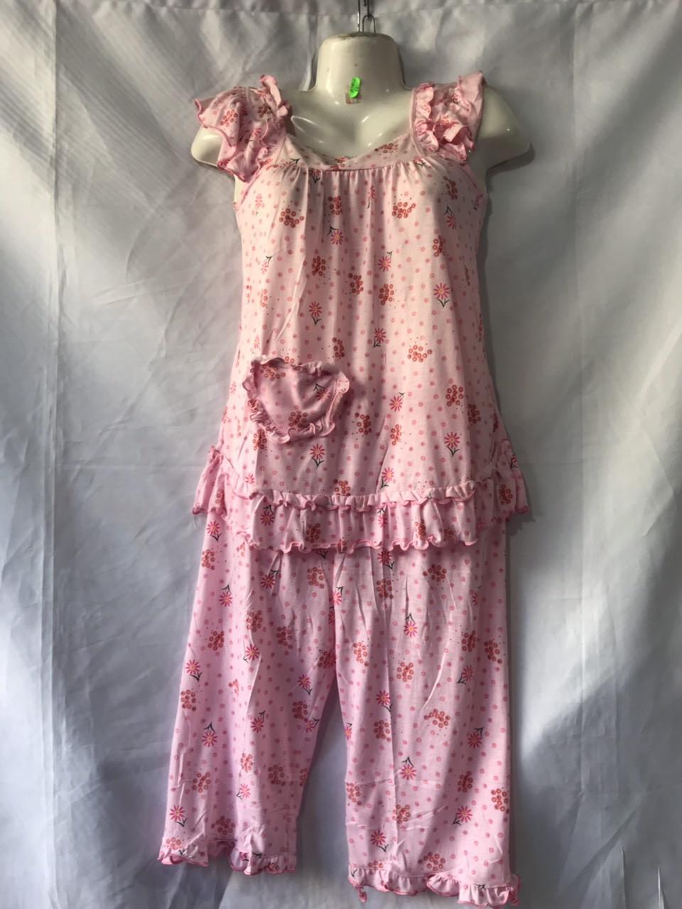 Пижама рубашка + бриджи женские размер M-3XL (от 5 шт)