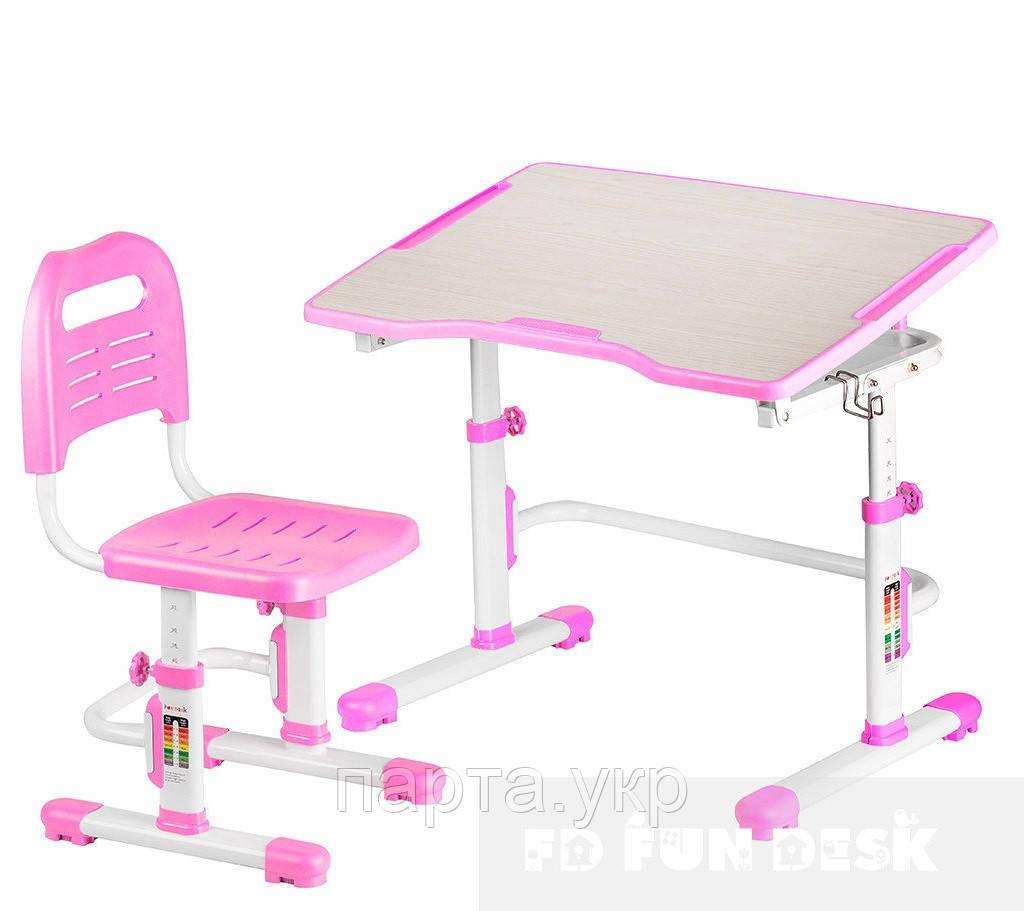 Парта и стул Vivo II, 80см, 4 цвета