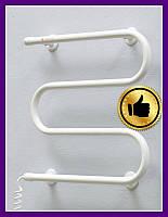 Электрический полотенцесушитель Змейка Теплый мир (слева/справа)