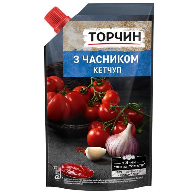 Кетчуп с чесноком  270г Торчин