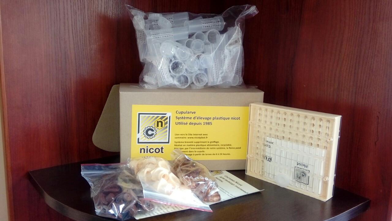 Система Никот-30 (стандартный комплект) для вывода пчелиных маток, Франция