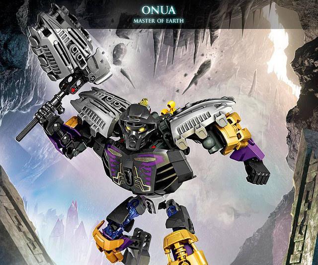 Lego Bionicle Онуа - Повелитель Земли 70789 5
