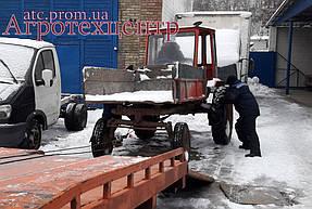 Тандемный ремонт Т-16 и Т-40 1