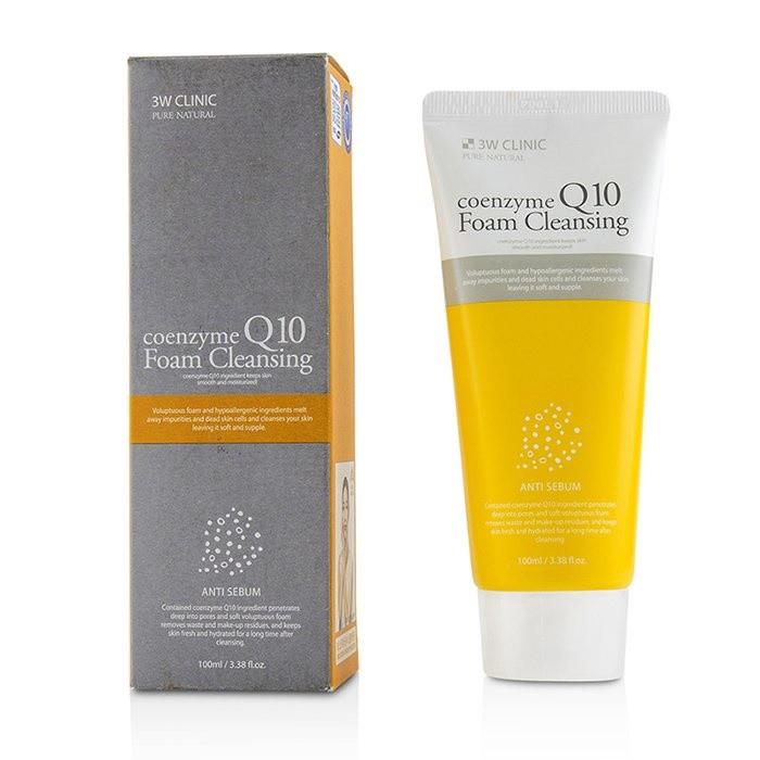 Пенка для умывания с коэнзимом 3W CLINIC Coenzyme Q10