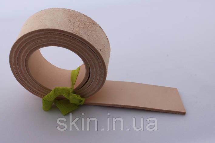 Полосы кожи растительного дубления, толщина 3.6 мм, арт. СК 1713, фото 2