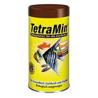 Корм для всех декоративных рыб Tetra Min Flaks,  500 мл
