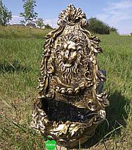Декоративный фонтан Лев настенный, фото 3
