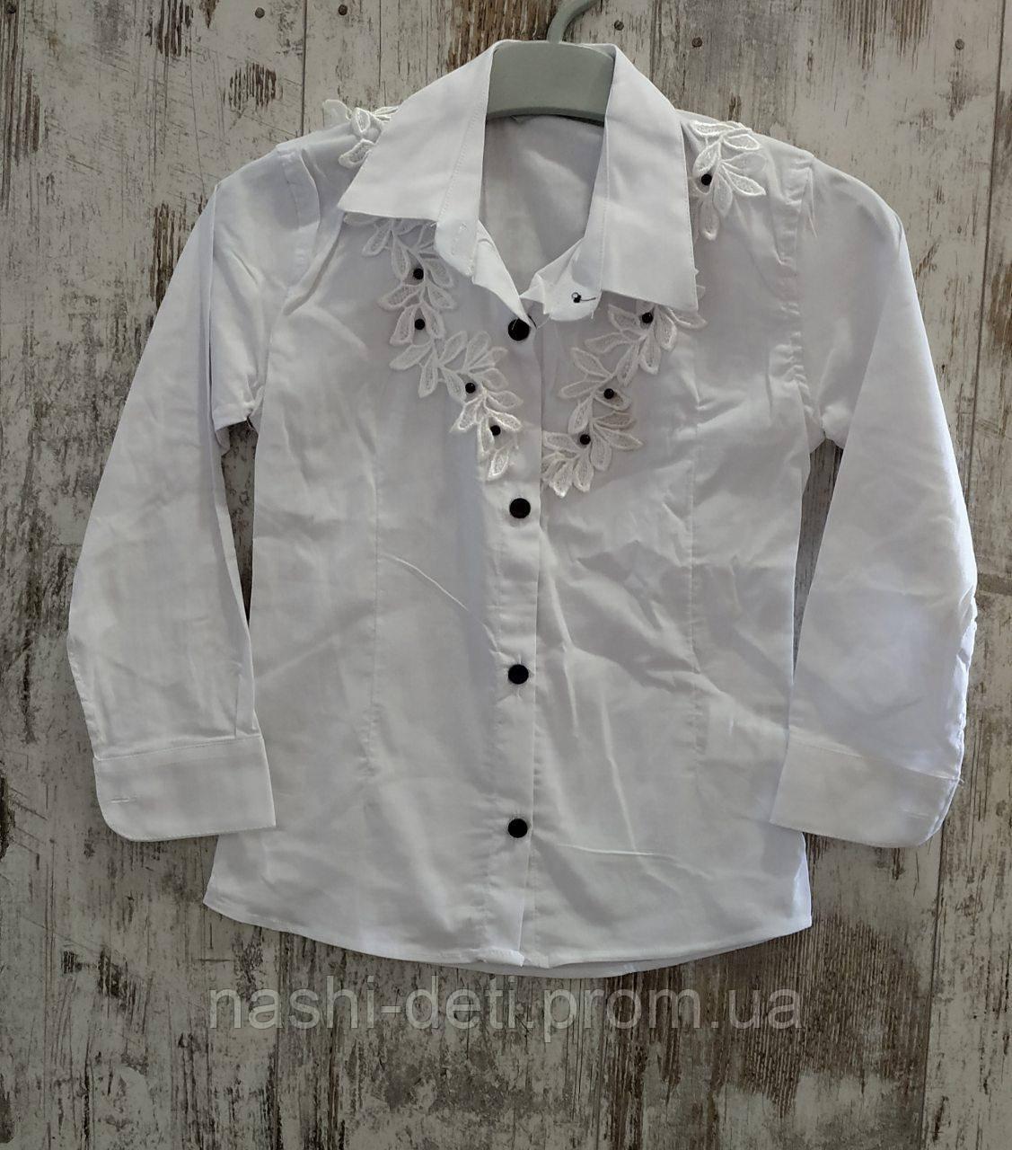 Рубашка для девочек. Размер от 6-9 лет