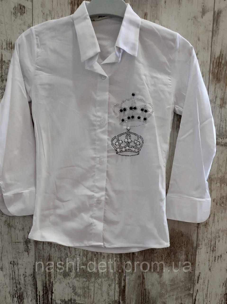 Рубашка для девочек. Размер от 6-9 лет.
