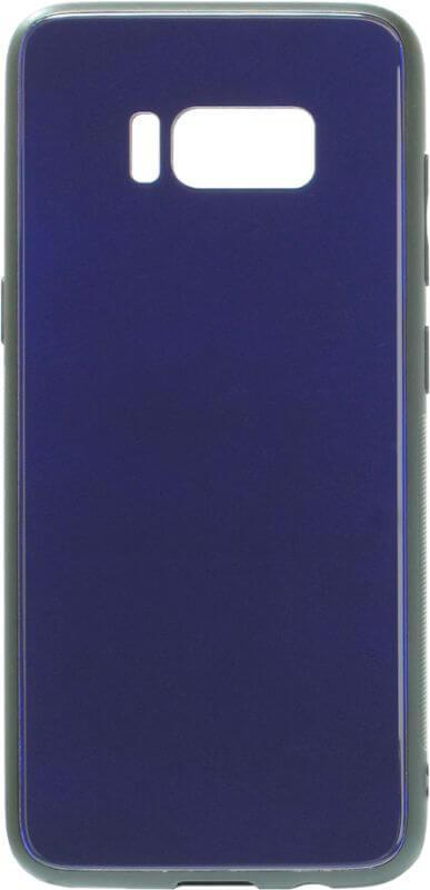 Накладка SA G950 S8 blue Glass