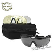 Тактические защитные очки Mil-Tec  ANSI EN 166, фото 1