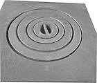 Плита чугунная печная однокомфорочная  для мангала ПД-1 (400 х 400 мм.), фото 2