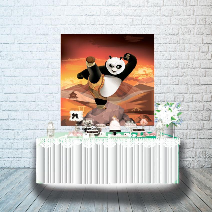 Плакат для кенди бара 1х1м, Кунг-фу Панда
