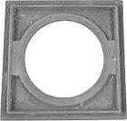 Плита чавунна пічна однокомфорочная для мангалу ПД-1 (400 х 400 мм), фото 7