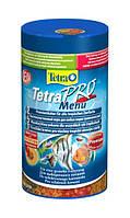 Корм для всех декоративных рыб Tetra Pro Menu, 250 мл