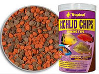 Корм для цихлид Tropical Cichlid Chips,  250 мл / 130 г