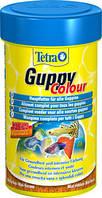 Корм для гуппи Tetra Gyppy Colour 100 мл