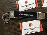 Брелок BMW M Motorsport Key Ring Pendant, Black, артикул 80272461131, фото 2