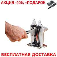Ножеточка Bavarian Edge Knife Sharpener настольная точилка для ножей + нож кредитка