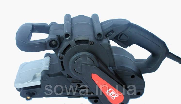 ✔️ Шлифмашина ленточная LEX BS211 ( 1300 Вт, 3,7 А ) Гарантия качества!, фото 2