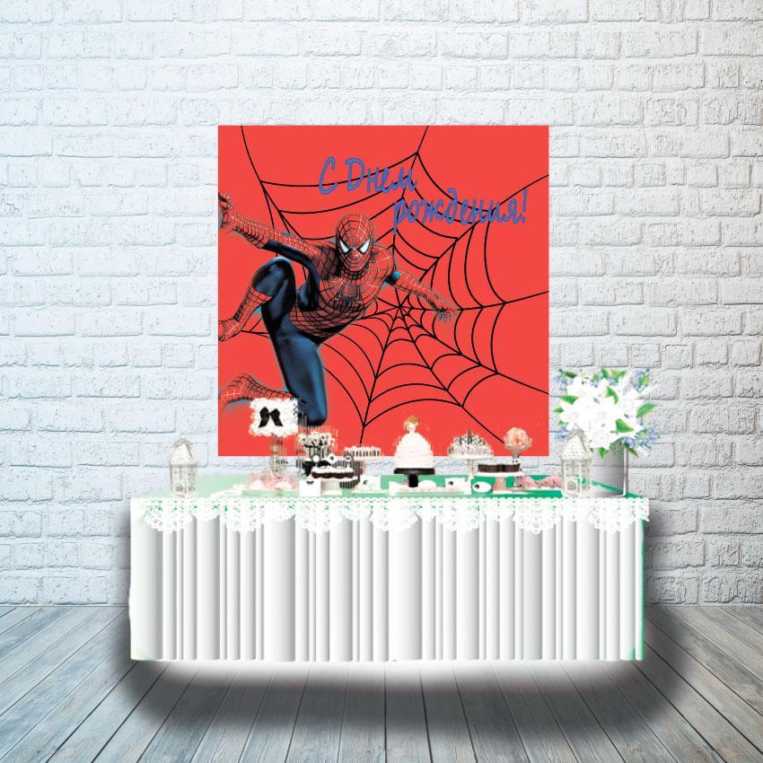 Плакат для кенди бара 1х1м, Человек Паук