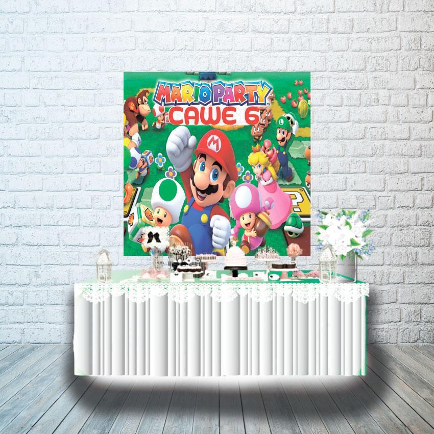Плакат для кенди бара 1х1м, Марио