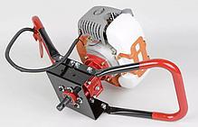 Мотобур (бензобур) 5200Вт LEX GD520 (3 шнека в комплекті 150-200-250мм), фото 2