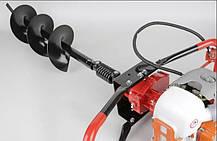 Мотобур (бензобур) 5200Вт LEX GD520 (3 шнека в комплекті 150-200-250мм), фото 3