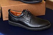 Мужские туфли Bastion черные, из натуральной кожи, фото 5