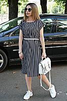 Платье Мадонна классика полоса