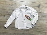 Катоновая блузка для девочек. 122- 152 рост.