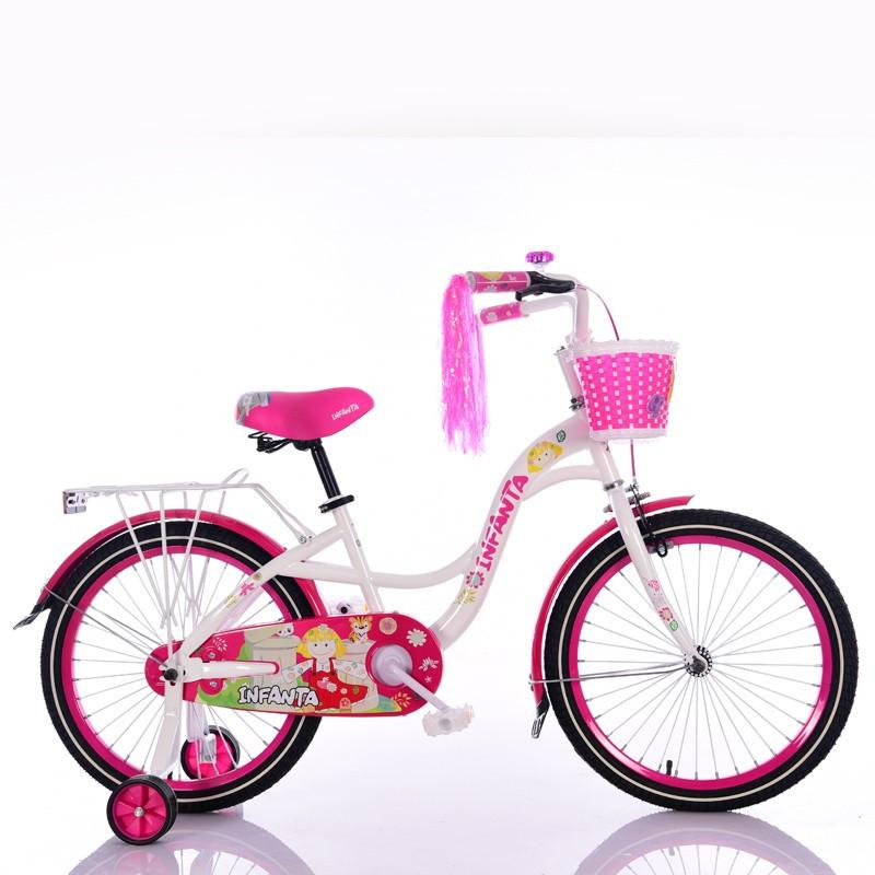 """Детский Велосипед """"INFANTA-20"""" White"""