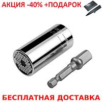 Универсальный торцевой ключ  Magic Socket Wrench  + нож кредитка
