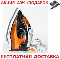 Утюг паровой DSP KD1035-U5 тефлон 2000W Original + нож кредитка