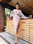 Женское платье с разрезом (в расцветках), фото 2