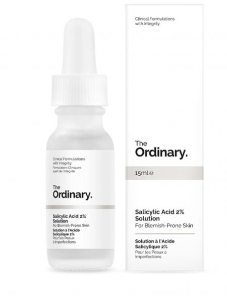 Салициловая кислота The Ordinary - Salicylic Acid 2% Solution - 2%, 30 мл